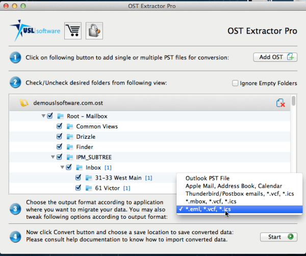 Converting OST to PST