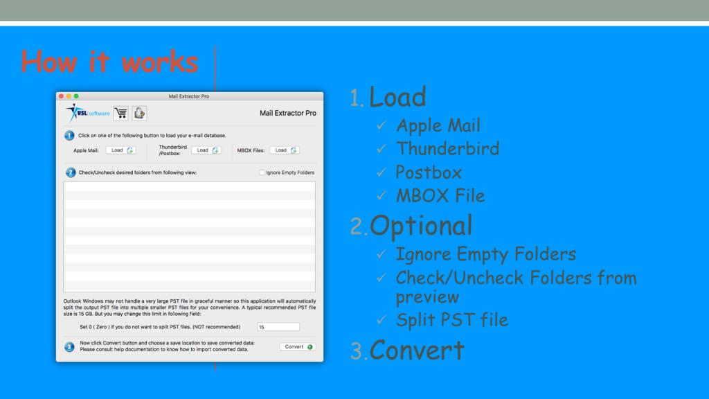 Convert EMLX to Outlook