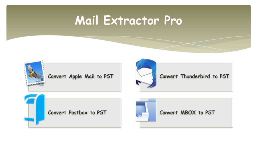 Convert Mac Email to PST